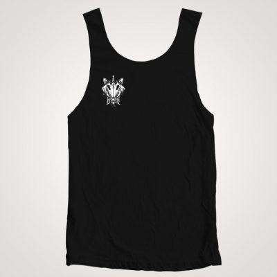 débardeur black bones noir avec logo
